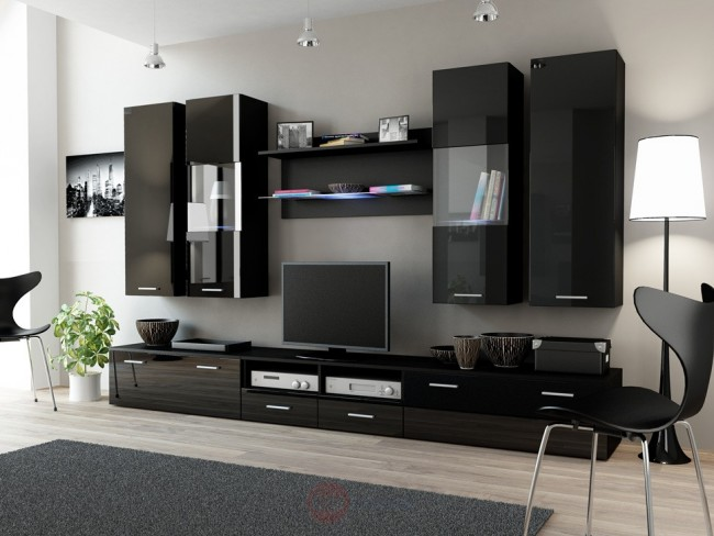 Combinazioni di mobili soggiorno, in diversi colori - DEAR II.