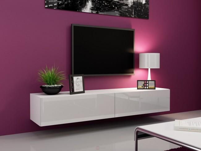 Mobile Tv Bianco Lucido.Mobile Tv Alta Lucentezza
