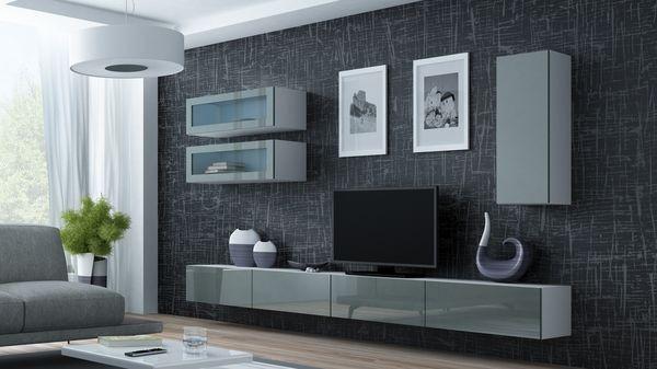 Parete attrezzata moderna da soggiorno - Viral XI.