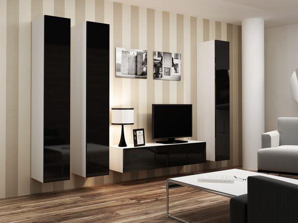 Montabile alla parete moderna da soggiorno - Viral XIV.