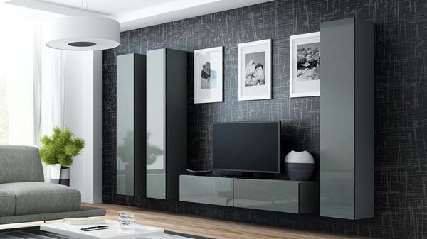 Parete attrezzata moderna da soggiorno - Viral XIV.
