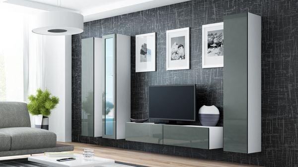 Parete attrezzata moderna da soggiorno - Viral XV.