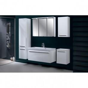 Bagno completo con lavabo in color bianco  a 60cm -  Atos